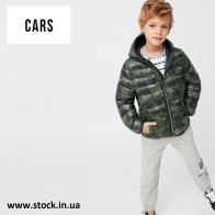 Сток детские куртки / ветровки CARS