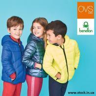 Детский сток одежды OVS & Benetton осень / зима