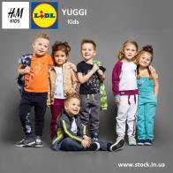 Детский сток одежды H&M / LIDL / Yuggi