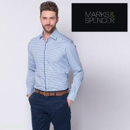 Мужские рубашки Marks&Spencer на вес!