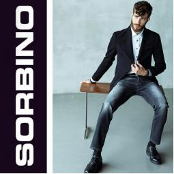 Сток мужские джинсы оптом SORBINO