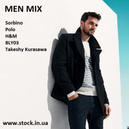 Мужской сток одежды MIX MEN