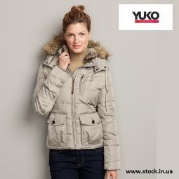 Женские куртки сток YUKO осень / зима
